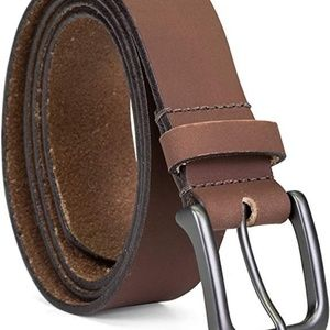 NEW Timberland Men's Classic Leather Jean Belt